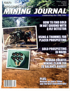 Mining Journal magazine