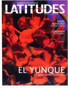 American Eagle - Latitudes Magazine Cover